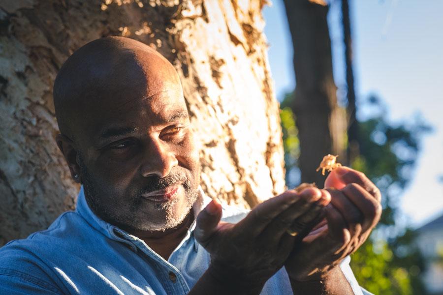 Chip Mc Farlane Executive's Coach Portrait watching nature