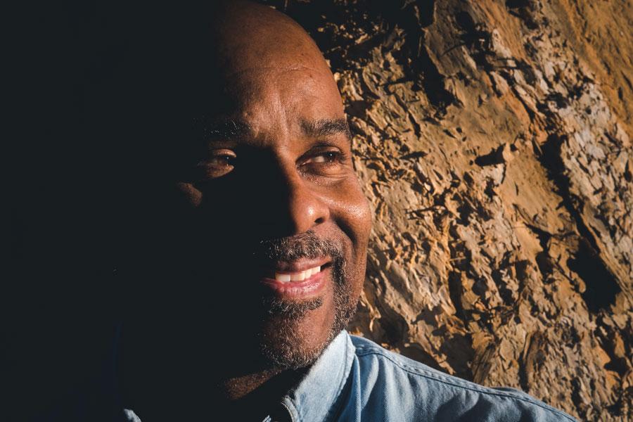 Chip Mc Farlane chiaroscuro portrait